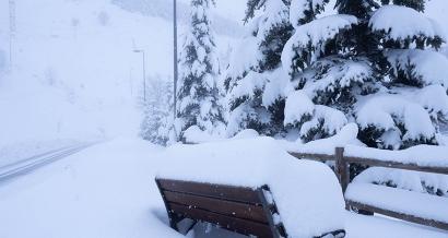 Plus de 50cm sont tombés dans les Alpes du Sud ces dernières heures