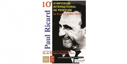 Le Symposium International de peinture Paul Ricard  fête ses 10 ans sur l?île de Bendor