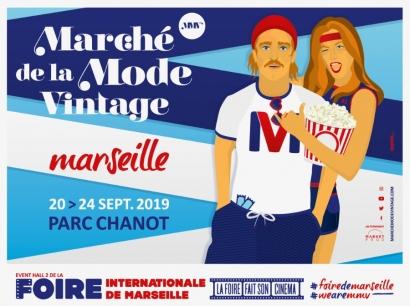 Le Marché de la Mode Vintage débarque à la Foire de Marseille