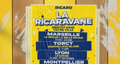 Un petit Ricard ? La Ricaravane a posé ses valises à la Friche Belle de Mai !