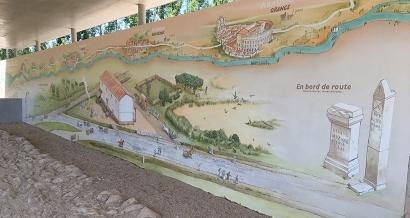 Une portion de la Via Aggripa découverte à Graveson