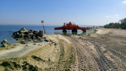 Martigues, Chateauneuf et Marignane: des plages fermées à baignade