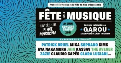 Fête de la Musique à Nice: les rues fermées à la circulation et modifications de bus pour ce 21 juin