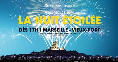Concerts, animations et feu d'artifice: C'est la Nuit Etoilée ce vendredi 28 juin sur le Vieux-Port