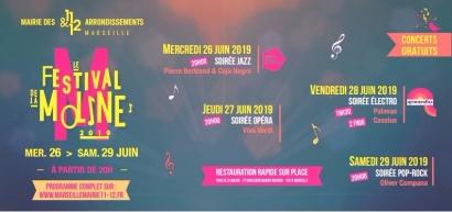 Des soirées musicales au frais et gratuites? Direction le Parc de la Moline avec son festival dès ce soir