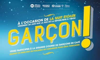 Une course de garçons de café organisée dans le centre de Marseille ce vendredi