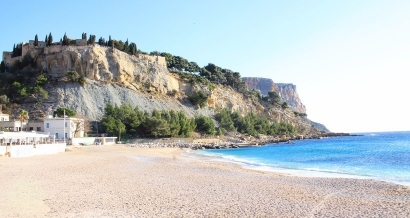 Cassis: les plages fermées à la baignade suite aux orages