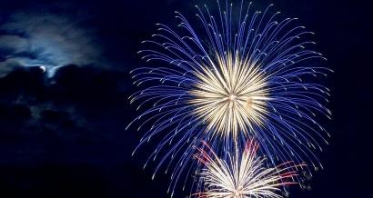 Mistral: les feux d'artifices du 14 juillet annulés et ceux maintenus en Provence