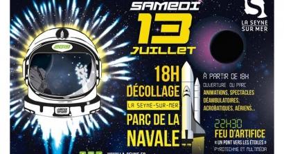 La Navale Enchantée promet de vous emmener dans les étoiles ce soir à La Seyne