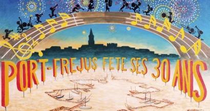 Feu d'artifice, concerts, joutes, balades en mer... Durant tout le weekend, Port-Fréjus fête ses 30 ans