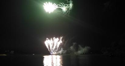 Istres: le premier feu d'artifice des Jeudis Etoilés interrompu par un problème. Le prochain sera plus important