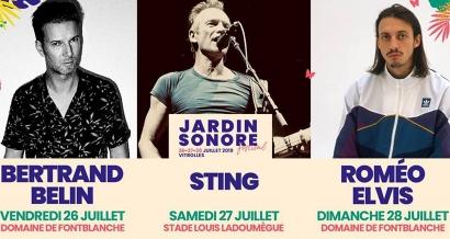 Concert de Sting: Des navettes gratuites sont mises en place