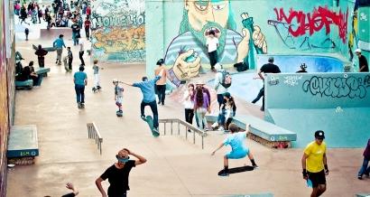 Le Skatepark de la Friche