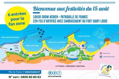 Sécurité, programme et accès... tout savoir sur le show aérien de la patrouille de France ce jeudi 15 août à Toulon