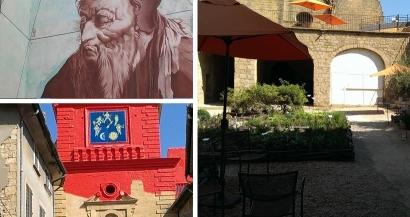 Balade citadine : Salon de Provence et Nostradamus