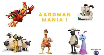 Wallace & Gromit, Shaun le Mouton en avant première... la Aardman Mania se diffuse aux Variétés à Marseille jusqu'en octobre !