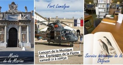 Journées du Patrimoine à Toulon, concert de la Musique des équipages de la flotte annulé