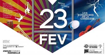 Les Dimanches de la Canebière reviennent ce 23 février avec les arts du cirque et le rugby à l'honneur