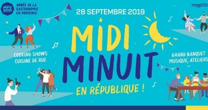 Midi Minuit en République: grande garden party  avec MPG2019