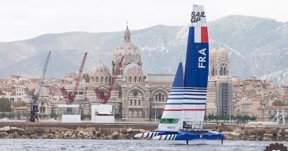 SailGP, retour en images sur du grand spectacle dans la rade de Marseille