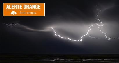 Bouches du Rhône, Var et Alpes Maritimes en alerte orange pour des orages ce samedi