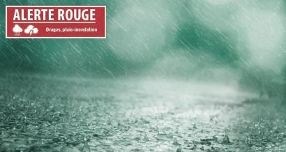 Pluie et orages attendus, la Région Sud en vigilance orange jusqu'à vendredi