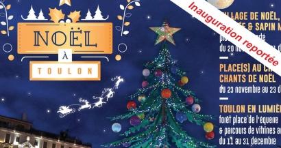 Noël à Toulon: inauguration du village de Noël reportée