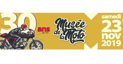 Musée de la moto: entrée et animations gratuites pour le 30e anniversaire