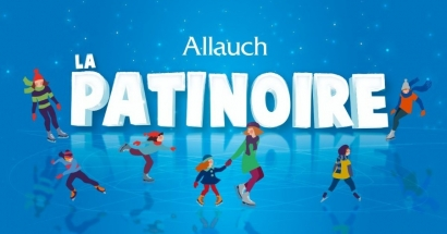 Patinoire de Noël à Allauch : Attention la patinoire est fermée en cas de pluie!