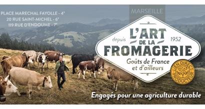 L'Art de la Fromagerie ouvre une troisième boutique et veut nous convertir aux fromages sains