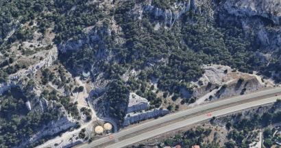 Un sentier fermé à Chateauneuf les Martigues en raison du risque d'éboulement