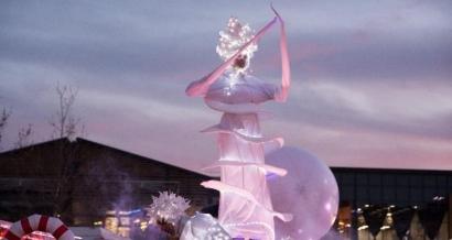 Féerie de Lumière: grande parade de glace et de feu à Salon-de-Provence