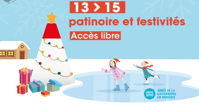 Patinoire et animations de Noël, ce week-end à Carry le Rouet