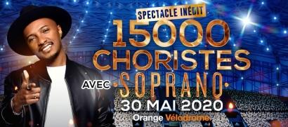Soprano au Vélodrome avec 15.000 choristes: ouverture de la billetterie ce mardi
