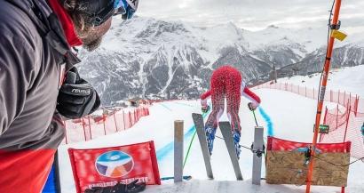 Orci�res: la Coupe d'Europe de ski annul�e � cause d'importantes chutes de neige