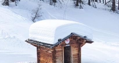 Jusqu'� 60cm de neige fra�che: Les Alpes du Sud font le plein de poudreuse!