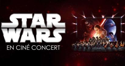 L'incroyable épopée Star Wars en ciné-concert avec l'orchestre philharmonique de Marseille
