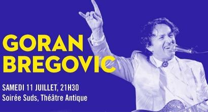 Goran Bregovic cet été aux Suds à Arles