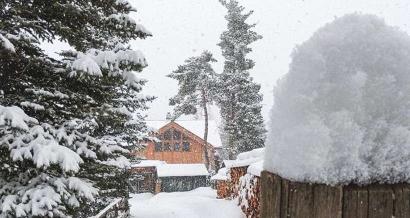La neige est enfin de retour dans les Alpes du Sud