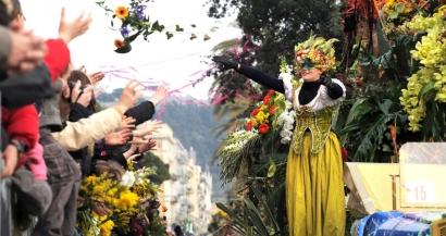 Les fleurs non-utilisées lors du carnaval de Nice vont être redistribuées