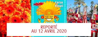 Coronavirus: Le Corso fleuri du Lavandou est reporté au 12 avril