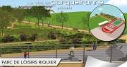 Aire de jeux, skate park, terrains de pétanque, espace de fitness urbain... le nouveau parc de loisirs Riquier ouvre à Carqueiranne