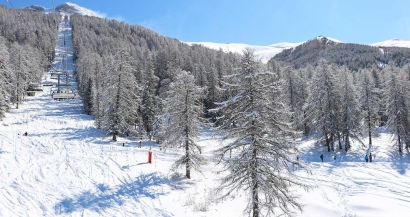 Pr�s de 80cm de neige en 72h: Les Alpes du Sud ont retrouv� leurs couleurs hivernales