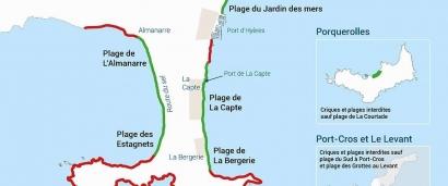 Quelles sont les plages d'Hyères qui rouvrent dès ce weekend?