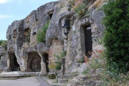 Aurons, La Provence carte postale