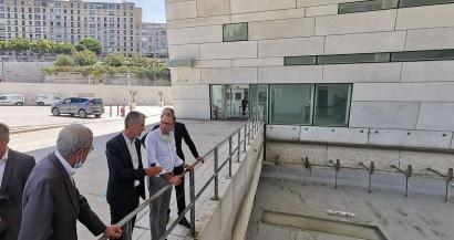 Coup d'envoi des travaux pour la Grotte Cosquer à la Villa Méditerranée, ouverture prévue en juin 2022