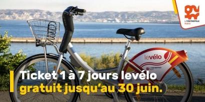 Bon plan: La location des vélos libre-service à Marseille est gratuite jusqu'au 30 juin