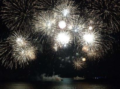 Cavalaire sur Mer: Un feu d'artifice tiré ce dimanche 5 juillet !