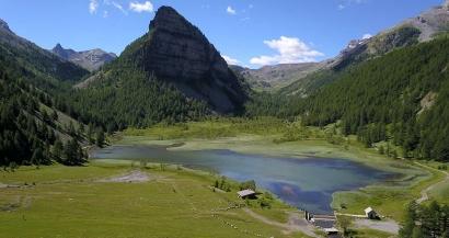 Les plus beaux lacs des Alpes du Sud: Le Lac des Sagnes