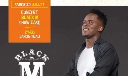Black M en show case gratuit à Brignoles le 25 juillet